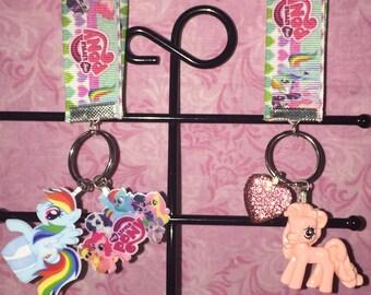 Various Pony lanyards