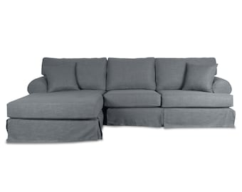 South Cone Home Venice Slipcover Sectional
