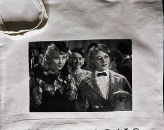 Squad Goals 42nd Street Ginger Rogers and Una Merkel Tote Bag | Classic Hollywood | Woman's Pictures | Pre-Code