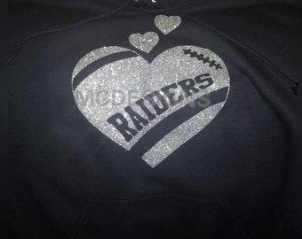 Womens/girls raider sweater
