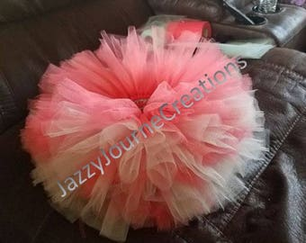 Coral and Mint Green tutu