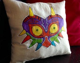 Legend of Zelda Majora's Mask Throw Pillow