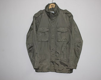 RARE Comme des Garcons Shirt M65 Field Jacket Design Nylon Military Size Small Vietnam War Fashion Yohji Pour Homme Issey Miyake Hip Hop