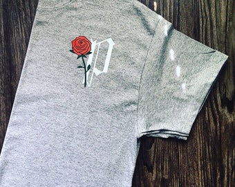 Rose T-Shirt (Various Colors)