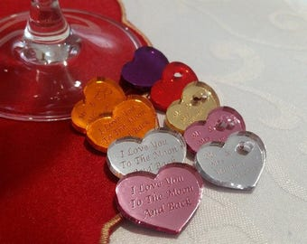 30 Wedding Favours / Valentine's / Christening / Party & Table Decorations