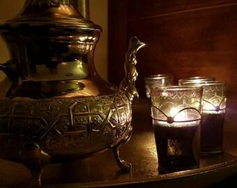 authentic Moroccan tea pot