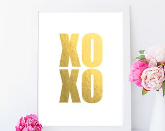 XOXO - Foil Print