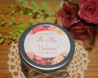 Valentine gift candle/ Mother's day gift/ custom candle/gift candle/ バレンタインキャンドル/ ギフトキャンドル