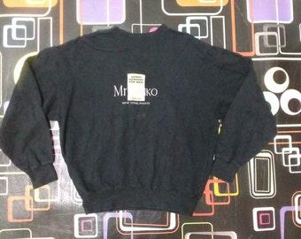 Sale!!!discount 20%-Vintage Mr Junko Koshino (MRJK) New York/Paris black sweatshirt