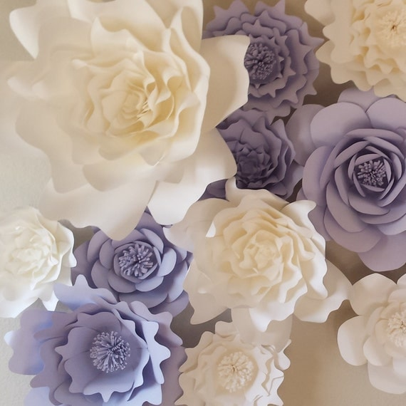 Giant Paper Flower Wall Backdrop 3d Paper Flowers