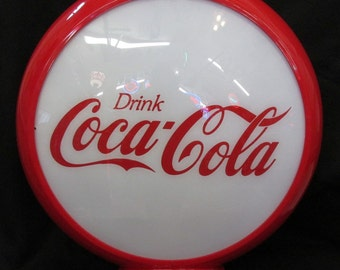 "13.5"" Coca-Cola Gas Pump Globe"