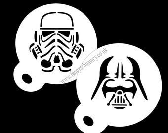 Star wars original dise o darth vader star wars asalto - Pochoir star wars ...