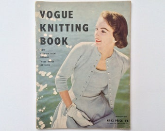 Vogue Knitting Book no.42 1950s