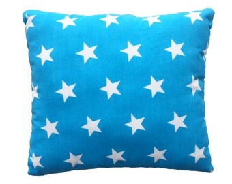 Electric blue pillow Etsy