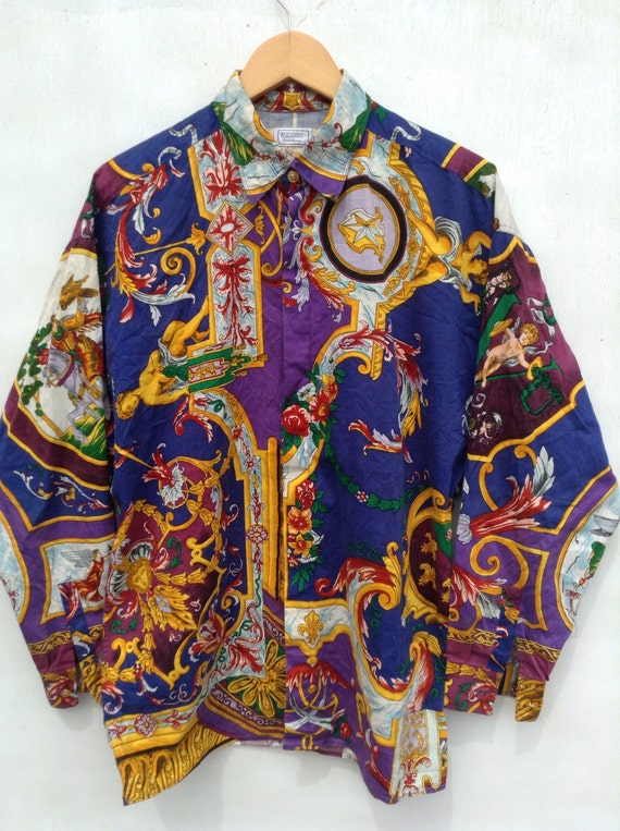 Vintage Baroque Shirt by Versace, Used
