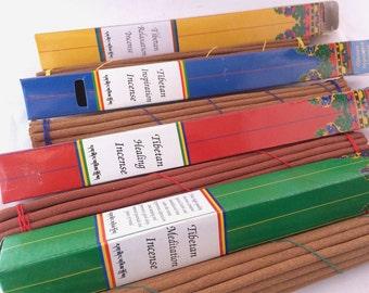 Nunnery Made Incense Stick- Tibetan Relaxation, Meditation. Healing, Inspiration Incense
