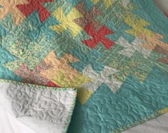 Patchwork Quilt - Twister
