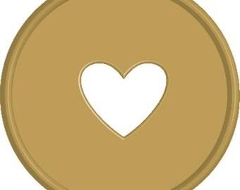 Large Discs - Black, Gold, Blue, Pink, or Teal - Happy Planner