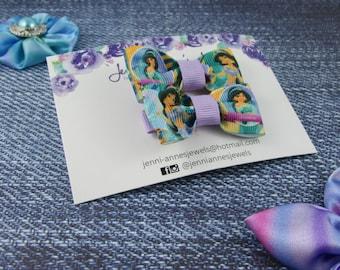 Bow Tie Hair Clip - Set of 2 - Jasmine Aladdin