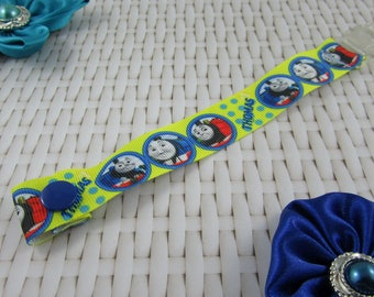 Dummy Clip / Pacifier Strap - Thomas The Tank Engine