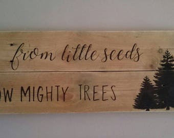 Handmade Rustic Country sign personlised made to order. Lovely gift/ wall decor