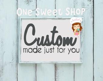 Custom Cookies Your Way