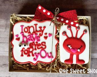 I Only Have Eyes For You Cookies - Individual