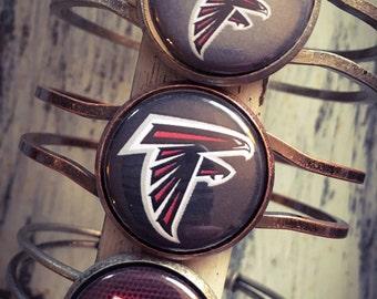 Atlanta Falcons Bracelet, Falcons Bracelet, Atlanta Falcons Jewelry, Atlanta, Falcons Jewelry, Atlanta Jewelry, Atlanta Falcons Gift