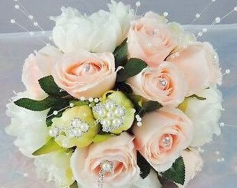Handmade wedding bouquet, flower bouquet, toss bouquet, bridal bouquet, wedding shower bouquet, flower arrangement, flower bouquet