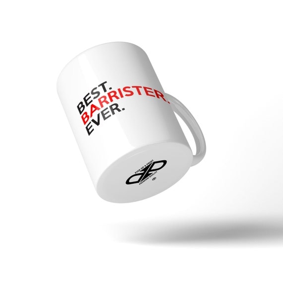 Best Barrister Ever Mug - Great Gift Idea Stocking Filler
