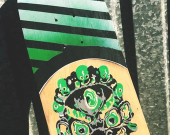 Skateboard Deck - Custom Hand Painted