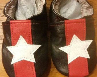 American leather slippers
