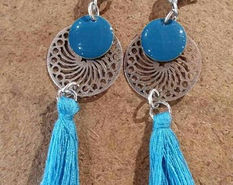Alexia blue earrings
