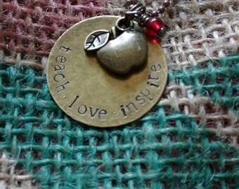 Teacher's necklace