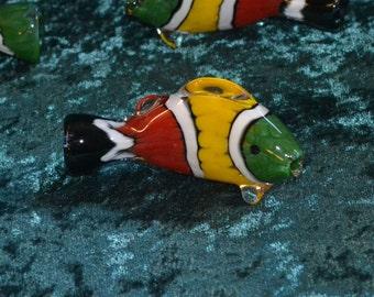 Rasta Clownfish Art Piece