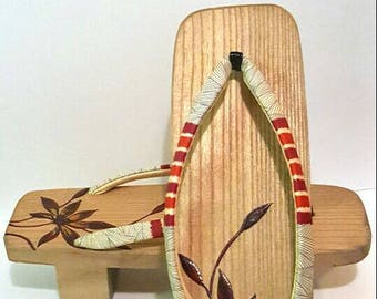 Vintage Japanese Geta Sandals - Women Sandals - Gift for Her - Gift Ideas - Made in Japan - Kimono Accessories - Traditional Zori