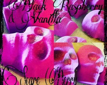 Black Raspberry & Vanilla Scream Bath Bombs