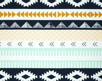 Arid Horizon,Aztec Fabric- Art Gallery Fabric Arizona Collection by April Rhodes-Baby Bedding