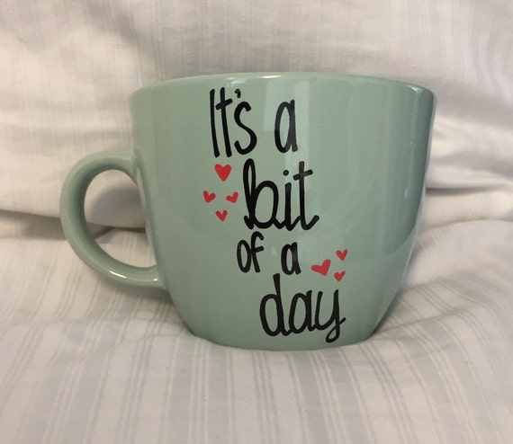 Bit of a Day mug