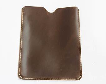 Leather iPad 2 3 4 Leather Case. Vintage  iPad 2 3 4 Case, Cell Case, Phone Case   iPad 2 3 4 Leather Wallet Case,
