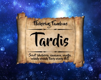 Tardis | 2.75 oz wax clamshell melts