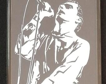 Ian Curtis Fridge Magnet