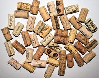 100 Wine Corks, Winery Wine Cork, Wine Corks with Logos, Bulk Wine Corks, Used wine corks. Recycled Wine Corks, Up-cycled Used Wine Corks