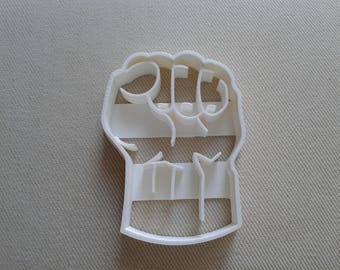 Hulk Fist Cookie Cutter 3D Printed ON SALE