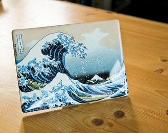 The great wave off Kanagawa by Katsushika Hokusai-printing on ceramics