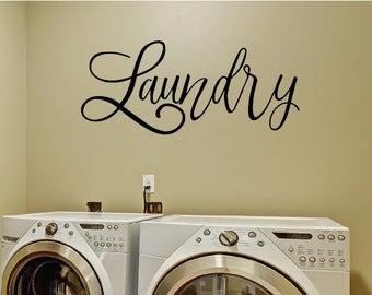 Laundry Room Decal   Laundry Room Sign   Laundry Wall Decal   Decal Laundry  Room   Part 72