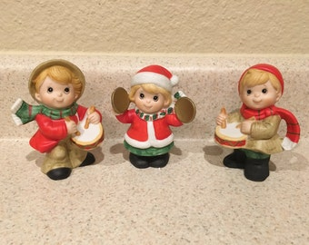 Homco Christmas children band