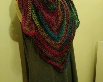 Hand Made Stained Glass Shawl