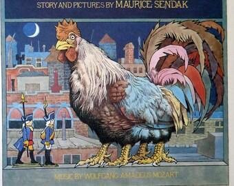 Maurice Sendak print, Kenny's Window, vintage poster print MS33