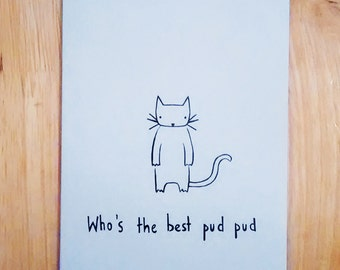 Who's The Best Pud Pud card